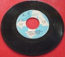 45 RPM Jacques Lepage Comme D'habitude / Disco Mix