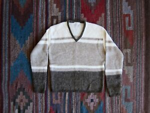 Vintage Mohair Sweater, Grunge, 60s, 50s, Cobain Sweater, Mohair Cardigan Style