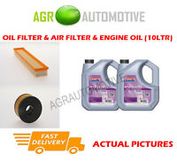 DIESEL OIL AIR FILTER KIT + FS 5W30 OIL FOR JAGUAR X-TYPE 2.0 131 BHP 2003-08