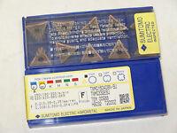 10 new SUMITOMO ELECTRIC TNMG 332-ESU T2000Z Carbide Turning Inserts 160408N-SU