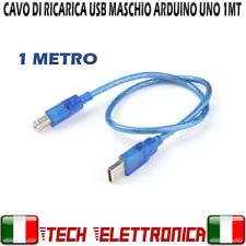 CAVO USB MASCHIO MASCHIO TIPO A - B CAVETTO 1mt PER ARDUINO UNO R3 PC
