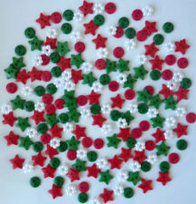 Resin Christmas Cardmaking & Scrapbooking Buttons