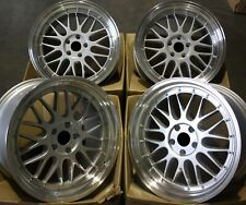 "ALLOY WHEELS X 4 19"" SPL LM MESH FOR BMW 1 + 3 SERIES E46 E90 E91 E92 Z3 Z4 M12"
