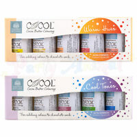 Squires Kitchen COCOL Colorant Alimentaire pour CHOCOLAT Professionnel Ensembles