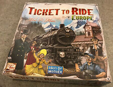 Days of Wonder Ticket to Ride Europe Board Game