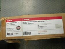 "Canon Heavyweight Matte Coated Paper - 17"" X 100' - Matte (0849v341)"