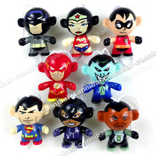 ~ KINDER Joy - DC COMIC HERO - Surprise Egg Toy - 8 FIGUREs set - Hong Kong BPZ