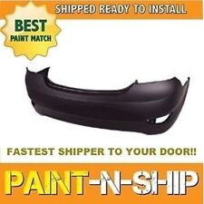NEW fits 2012 2013 2014 2015 HYUNDAI ACCENT SEDAN Rear bumper PaintedHY1100184