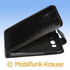 Flip Case Etui Handytasche Tasche Hülle f. HTC Sensation XL (Schwarz)