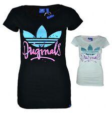 Hüftlange adidas Damen-T-Shirts mit Motiv