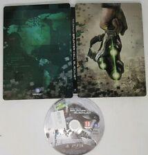 PS3 Splinter Cell Blacklist RARE STEEL BOOK EDITION