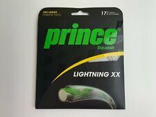 Prince Lightning XX 17 1.25mm 10 Meters Squash Strings Set - New Sealed