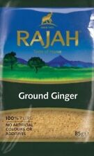RAJAH Ground Ginger Powder 100g (100% Pure No Artificial Colours or Additives)