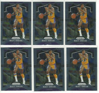 ( 6 ) Card Lot 2019-20 Panini Prizm Magic Johnson #25 HOF