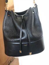black leather oroton bucket bag