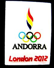 LONDON 2012 Olympic ANDORRA NOC Internal team - delegation dated pin
