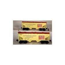 Ready Made Trains 96392 O 2-Bay Cvd. Hopper Walter's Beer 2 car pack mint