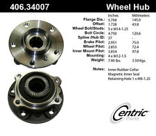 Centric Parts 406.34007 Front Hub Assembly