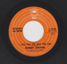BOBBY VINTON {70s Pop Vocal} I Love You The Way You Are / Hurt