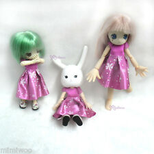 Obitsu 11cm Doll Azone Picco Neemo Outfit One-piece Dress Snow in the Sky