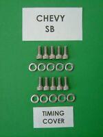 CHEVROLET BB 402 427 454 COPERCHIO DISTRIBUZIONE Kit bullone con testa di tappo