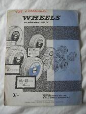 Sheet Music & Lyrics - Norman Petty - Wheels