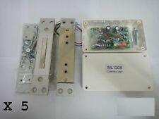 MAGLOCK ELECTRO MAGNETIC DOOR MAGNET LOCKS ELECTRONIC LOCKS SHEAR LOCK BOX OF 5