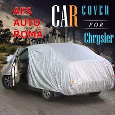 Telo Copriauto telato e felpato Chrysler 300c Touring L'unico con Zip Lato Guida