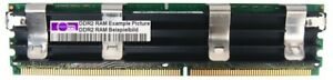 4GB Apple Dimm DDR2-667 PC2-5300F ECC Fb-dimm RAM 240pin Server Heat Memory