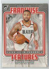 2020-21 Donruss Basketball - Damian Lillard - Blazers - Franchise Features - #25