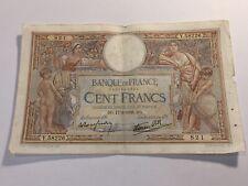 Billet France 100 Francs Luc Olivier Merson 17-3-1938 (103-31/A1-35)