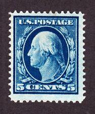 Us 378 5c Washington Mint Vf Og H Scv $30