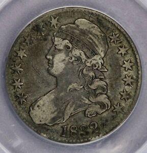 1832-P 1832 Capped Bust Half Dollar ANACS VF30 Details beautiful original look