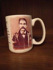 """Doc"" Holiday Collectible Coffee Mug | Arizona | O.K. Corral Shootout | Gift |"