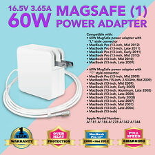 """60W For Apple MacBook Pro 13"""" AC Power Adapter Charger A1344 A1184 A1278 A1330"""