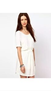 By Zoe Mini Sack Dress/ T shirt Dress with Roll-Up Sleeves size 4 -UK 14 RRP£140