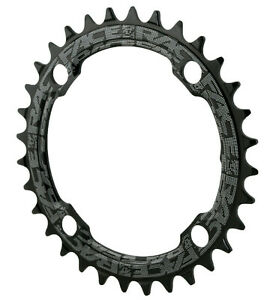 Race Face Single Narrow Wide 1x MTB Chainring - 104mm BCD 32t Black