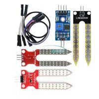 3.3V 5V Soil Humidity Hygrometer Sensor Module Moisture Detect Cable for Arduino
