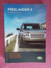 LAND ROVER FREELANDER 2 (2006 - 2008) USER MANUAL - GUIDE - HANDBOOK (YJL 1597)