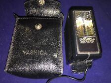 Yashica-  RARE- MS-20DX- Shoe Mount Flash & Case