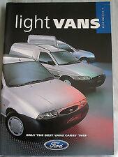 Ford Light Vans range brochure 1998 Ed 1