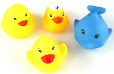 Small Bundle Collection Small Yellow RUBBER DUCK Dolphin BATH TOYS