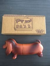 Vintage Ellwood City Federal Savings & Loan Advertising Puppy Dog Bank ! Rare !