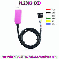6Pin PL2303HXD USB to RS232 TTLCable module for win XP VISTA 7 8 Android OTG