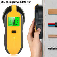 4-in-1 Electronic LED Display Metal Stud Detector Wall Wire Scanner Wood Finder