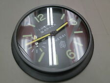 Home Decor - 34cm Panerai Black Wall Clock