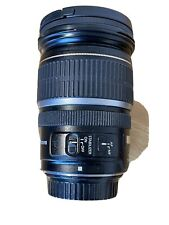 CANON EF-S 17-55mm f/2.8 IS USM lens with lens hood