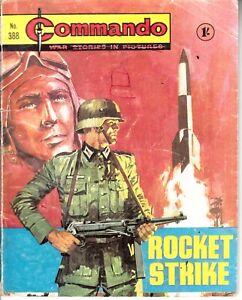 COMMANDO COMIC - No 388   ROCKET STRIKE