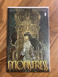 Monstress #1 Marjorie Liu Sana Takeda Image Comics First Issue