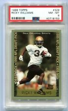 1999 Topps Ricky Williams Rookie #329 NM-MT 8 (SET REGISTRY)